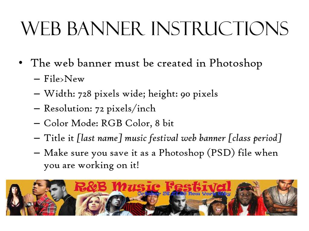 Music festival web banner - ppt download