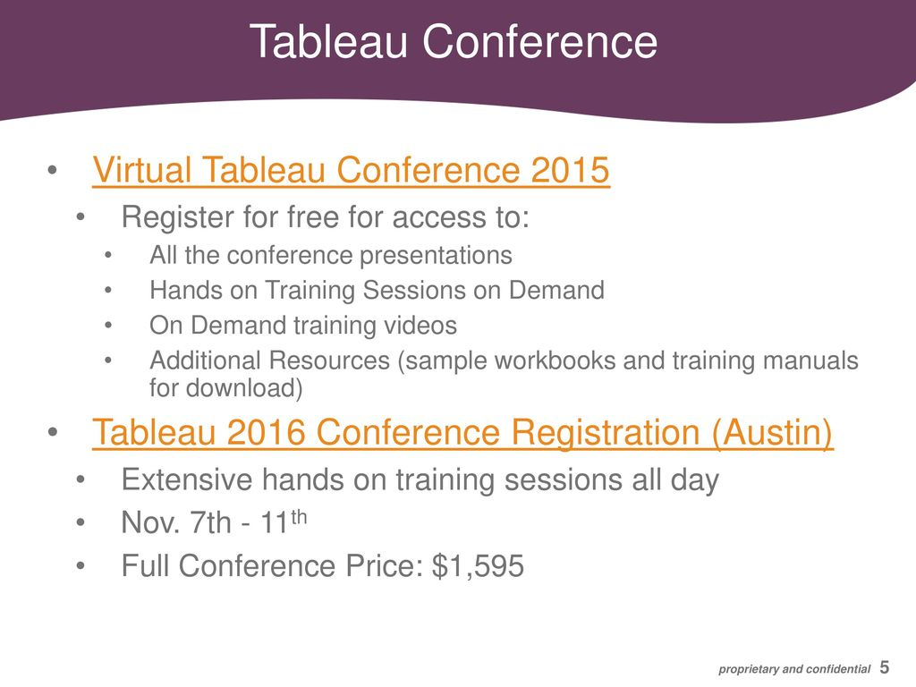 Tableau Learning Resources - ppt download