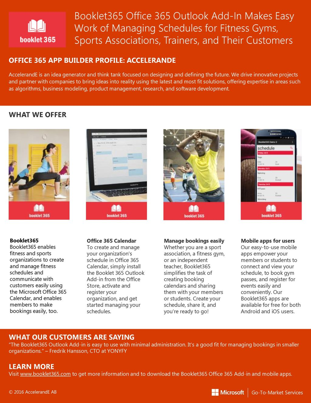 Booklet365 Office 365 Outlook Add-In Makes Easy Work of