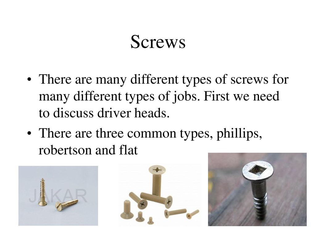 Fasteners Con't  - ppt download