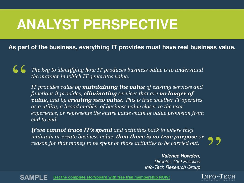 Maximize Business Value From It Through Benefits Realization Ppt Download