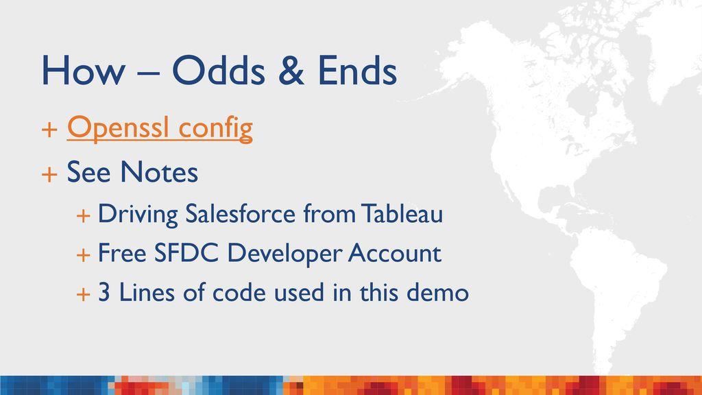 Tableau & Salesforce Integration - ppt download