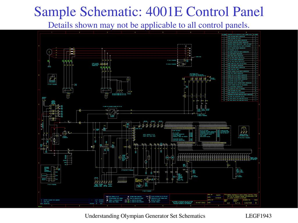 4001e Control Panel Wiring Diagram | Wiring Diagram