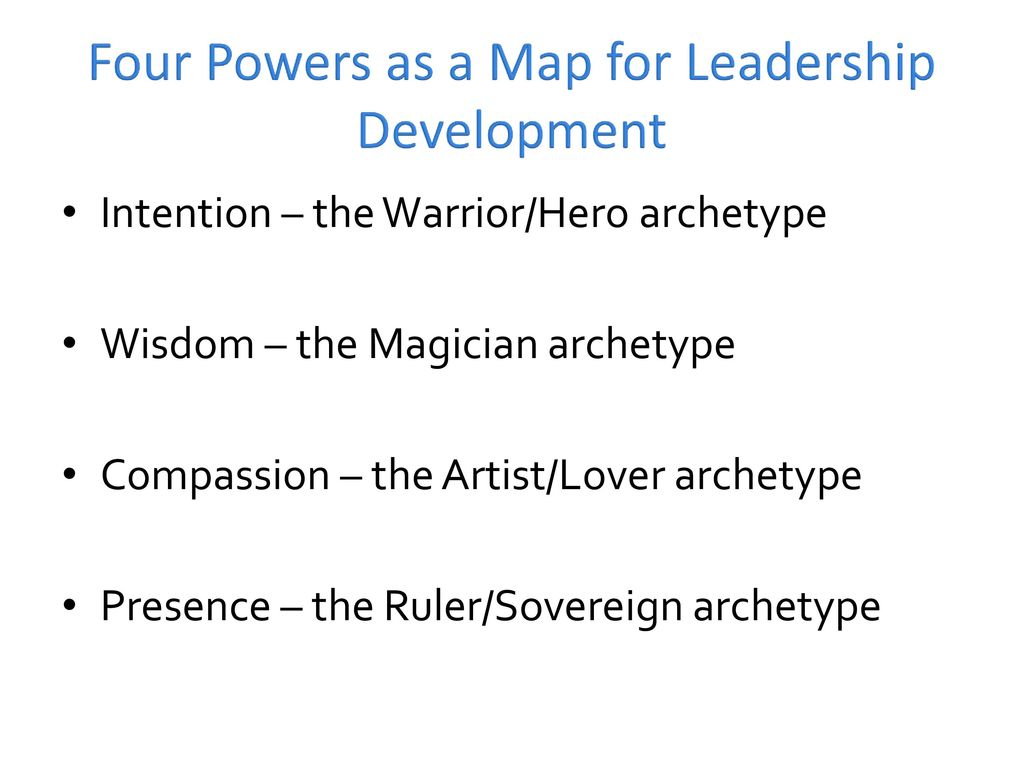 Warrior as Leader If you are creating a character who needs