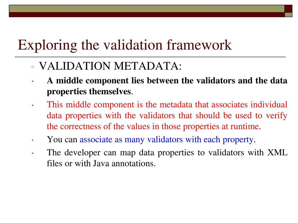 Struts 2 Validation Framework - ppt download