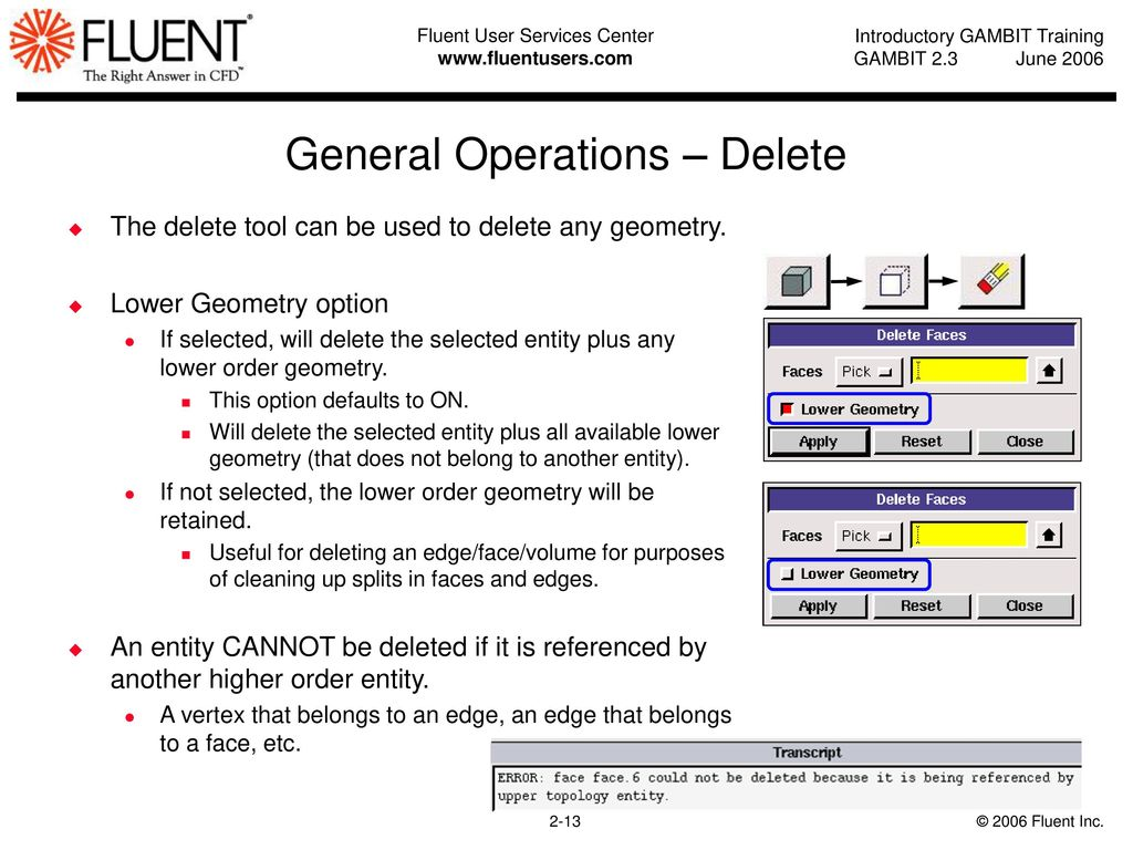 Geometry Operations in GAMBIT - ppt download