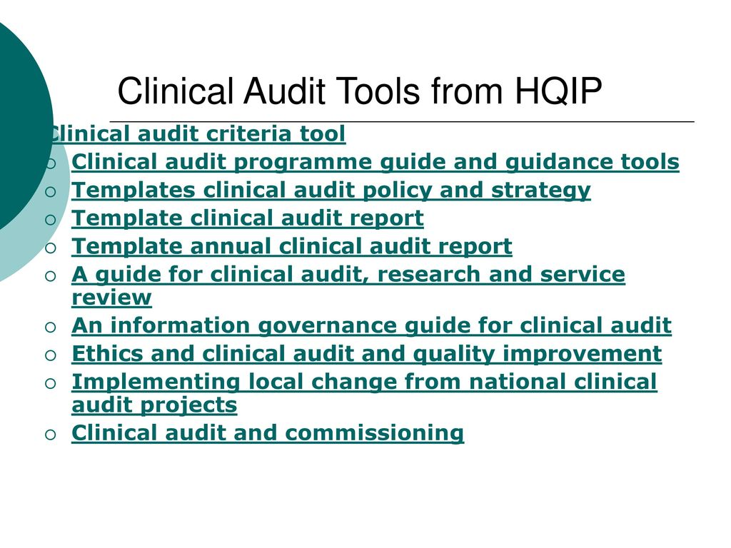 Introduction To Clinical Audit Ppt Download