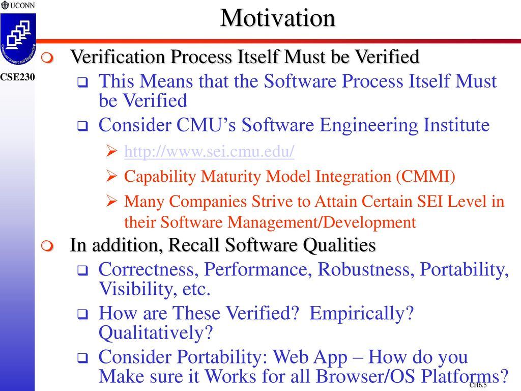 Chapter 6 Software Verification Ppt Download State Diagrams Seilevel 5 Motivation