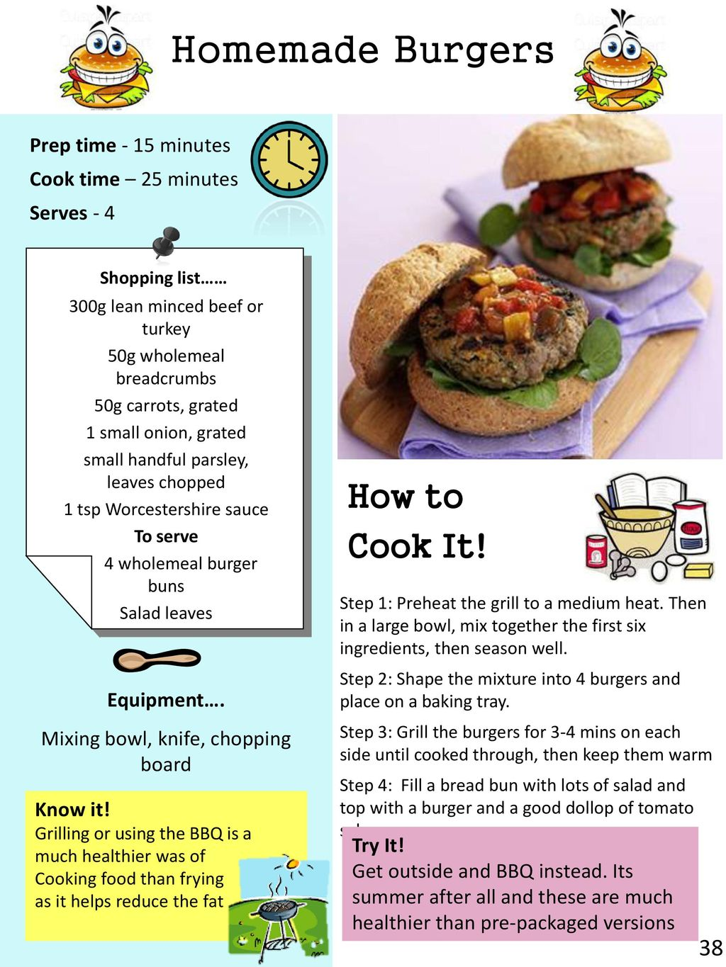 cook! Cook it Eat it Love it - ppt download