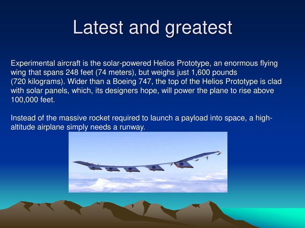 How high can aircraft fly? - ppt download