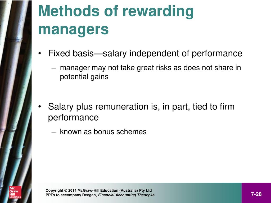 Positive Accounting Theory Ppt Download Electrical Wiring Salary 28 Methods Of Rewarding Managers