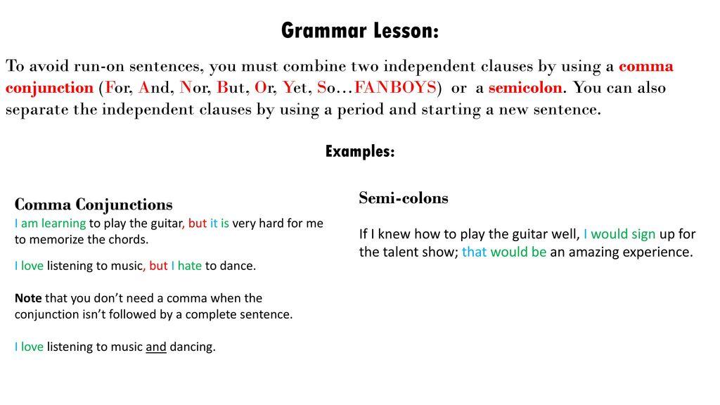 Week 2 Ways To Combine Sentences More Using Ppt Download