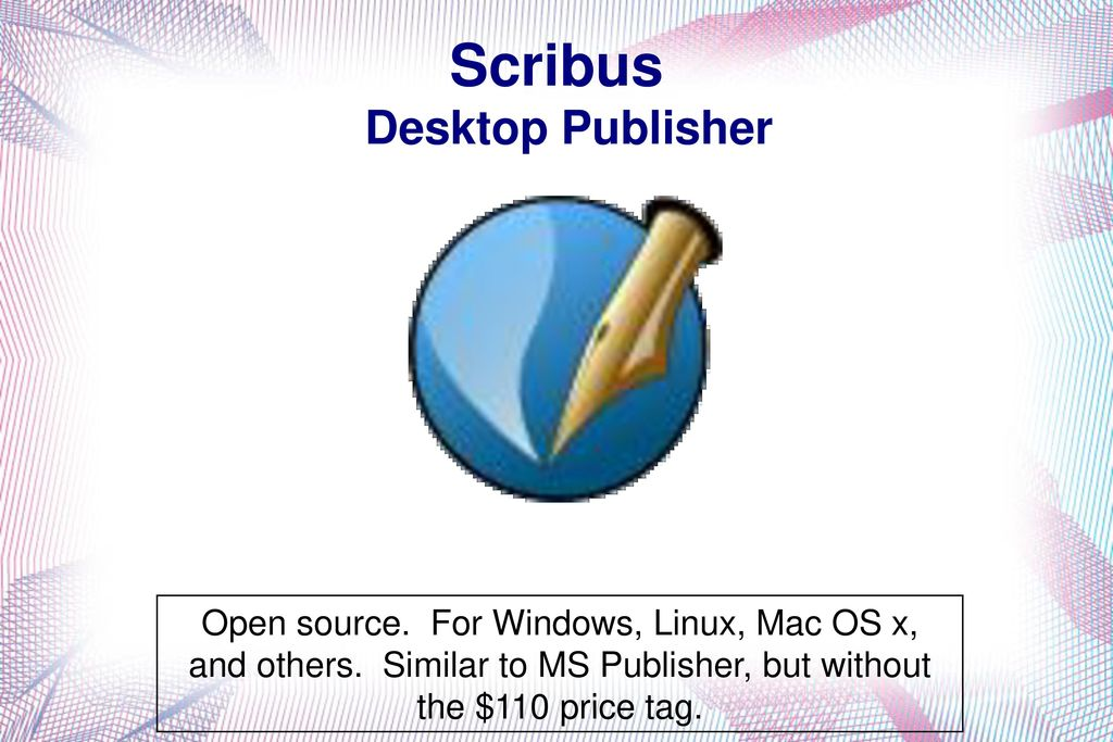 Great FREE Software Open Source Cross Platform - ppt download