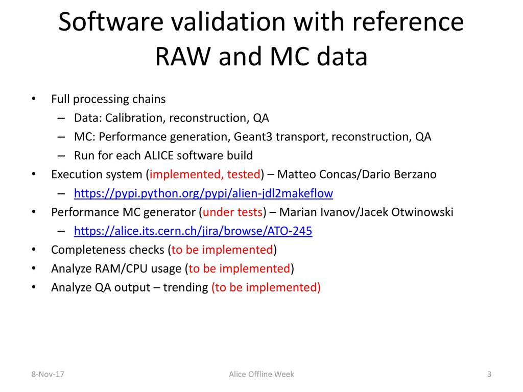 Jacek Otwinowski (for the DPG QA tools and WP7 groups) - ppt download
