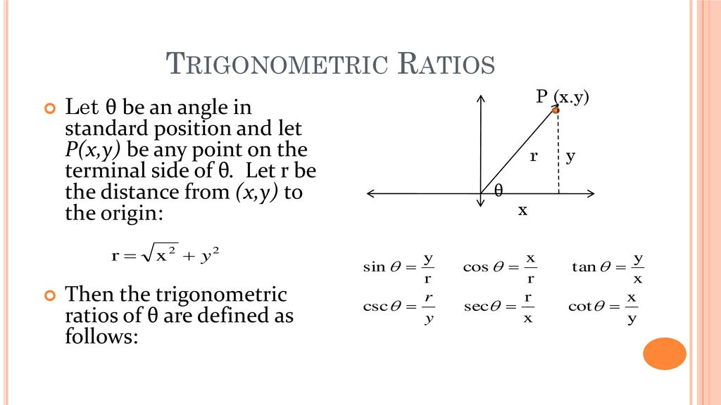 Chapter 6: Trigonometry - ppt download