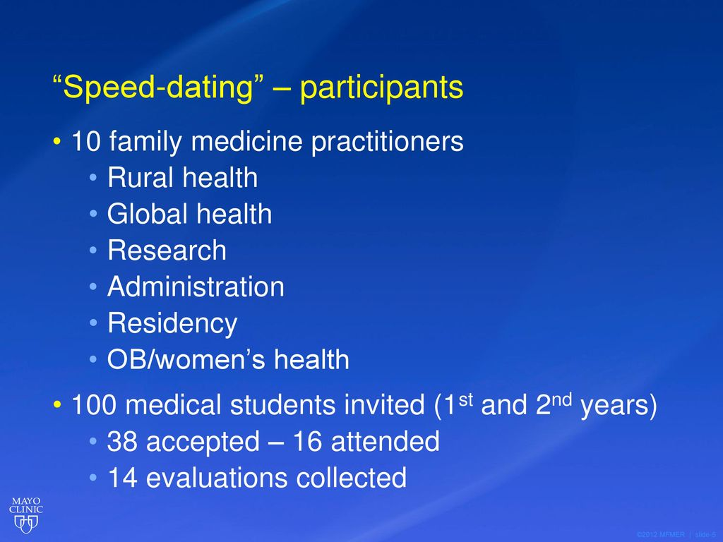 Medical students dating