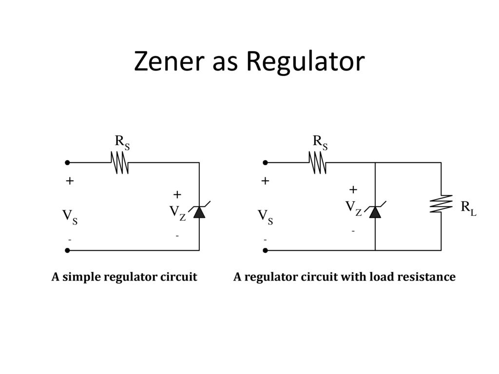 Voltage Regulator Ppt Download Volt Circuit Using 7805 Ic 3 Zener As A Simple With Load Resistance