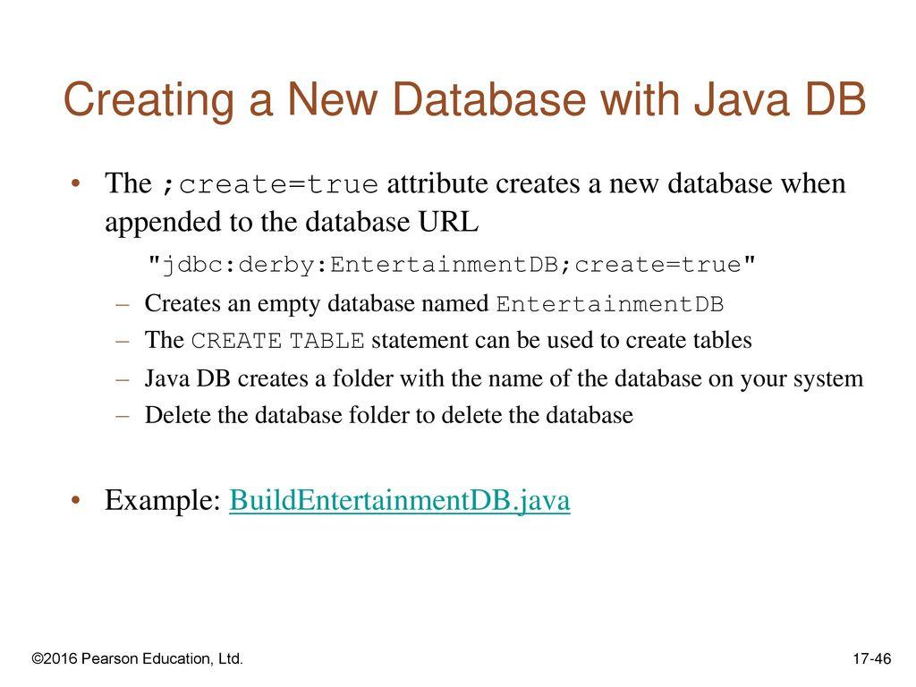 Java Db Example