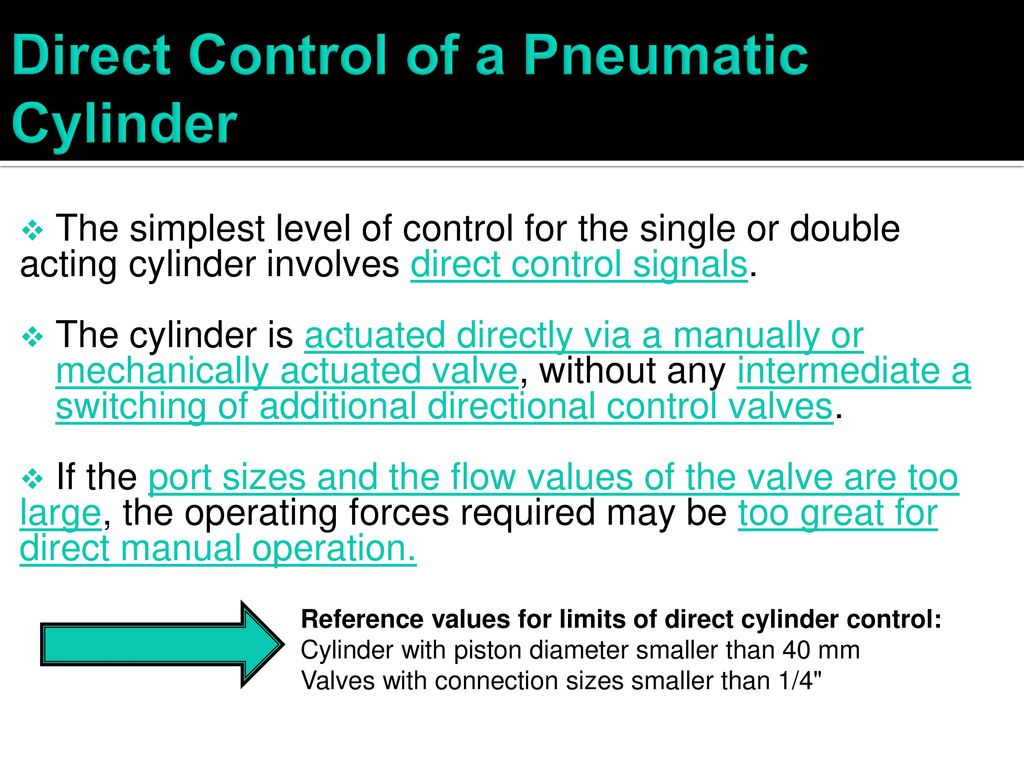 Actuators and directional control valves - ppt download