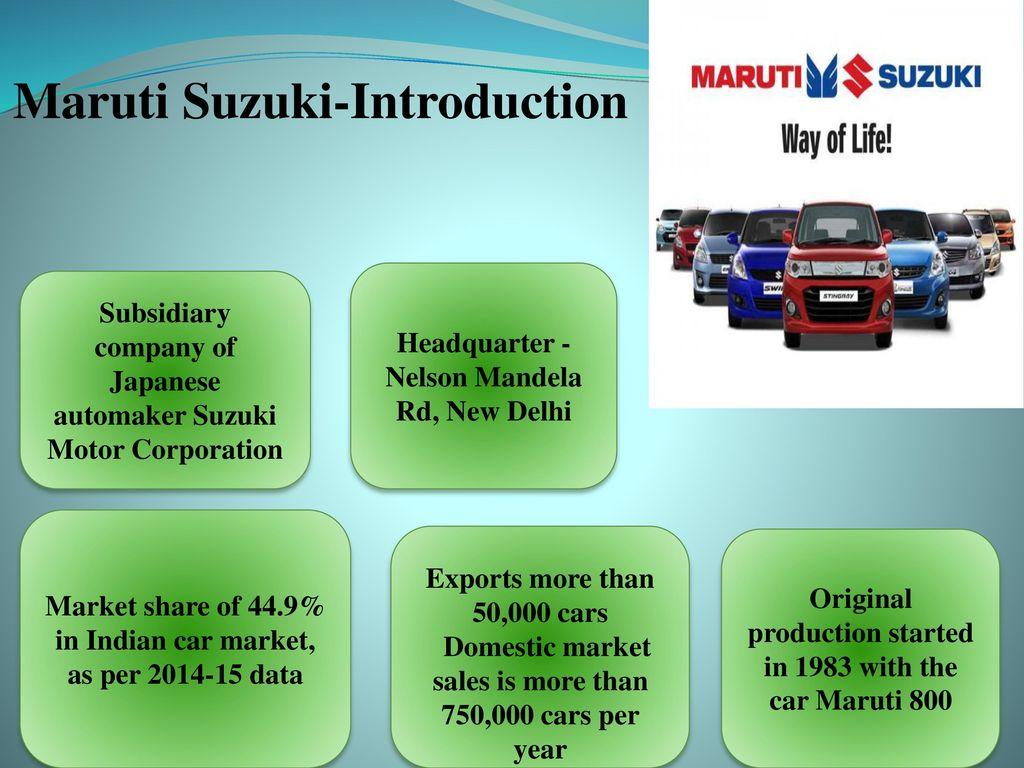 maruti suzuki management structure