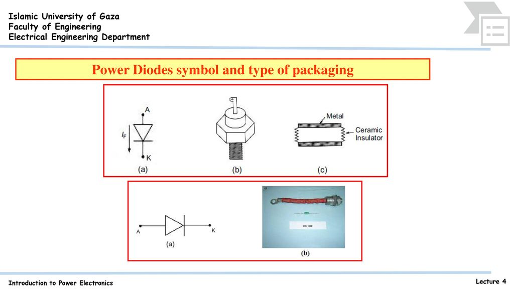Power Semiconductor Diodes Ppt Download