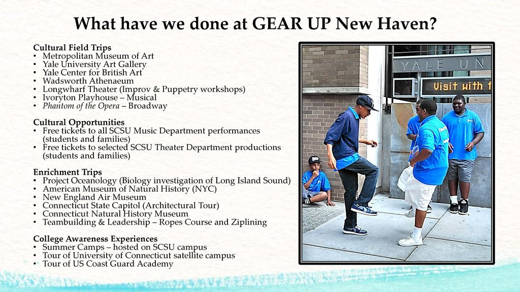 Why the Arts are Integral to the Future of GEAR UP - ppt