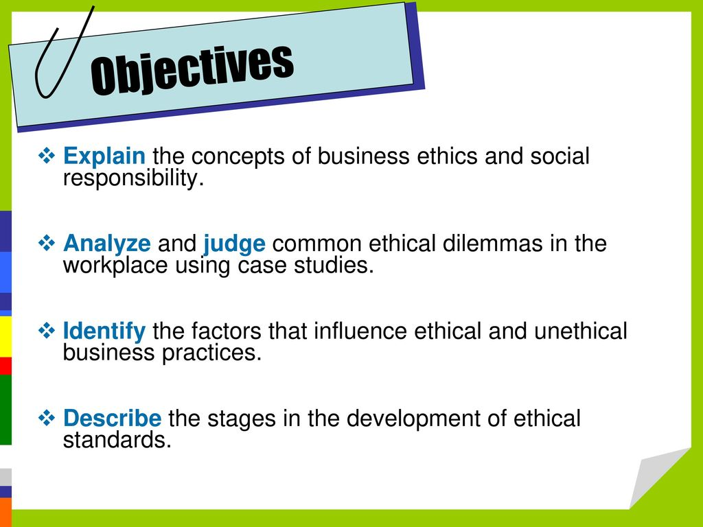 Business Ethics and Social Responsibility - ppt download