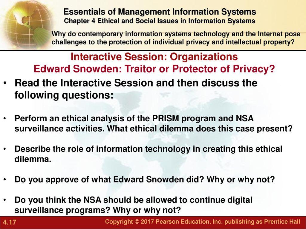 snowden ethical dilemma
