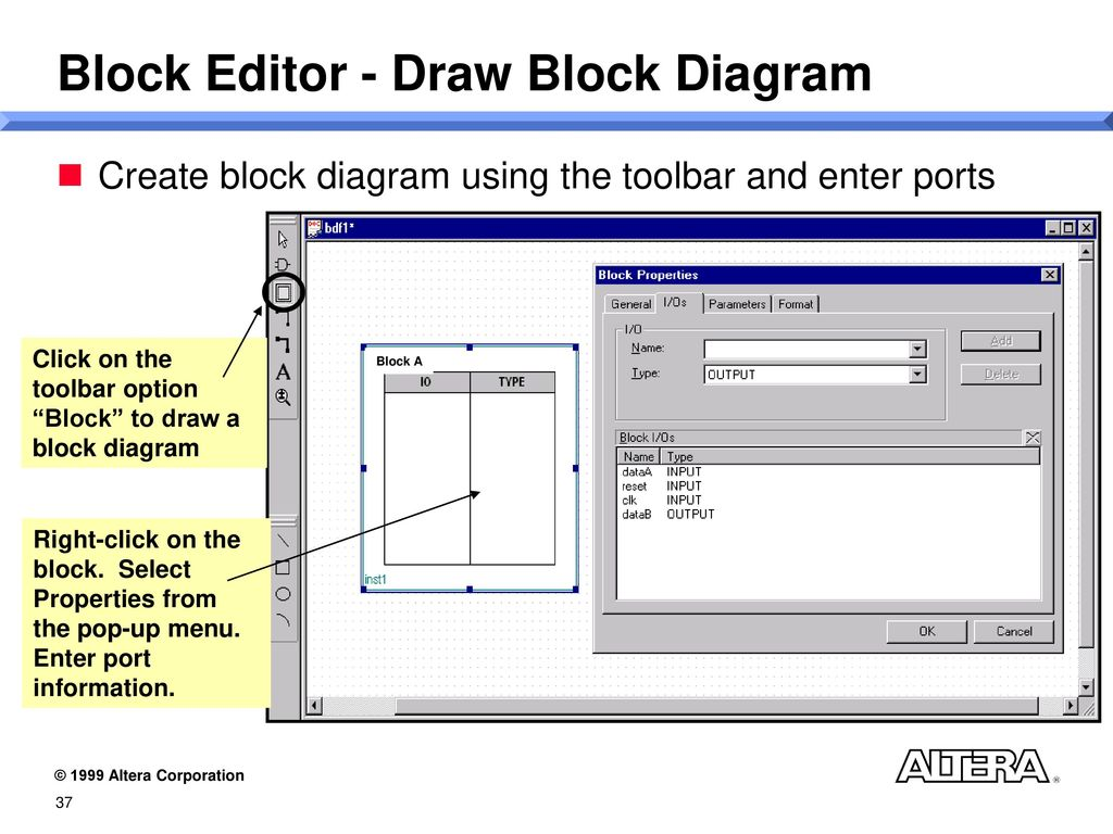 Introduction To Quartus And The Apex 20k Device Family Ppt Download 2 Block Diagram Tutorial Editor Draw