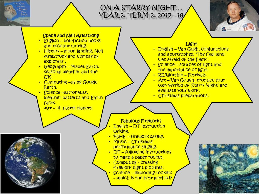 On a starry night… Year 2, Term 2, - ppt download
