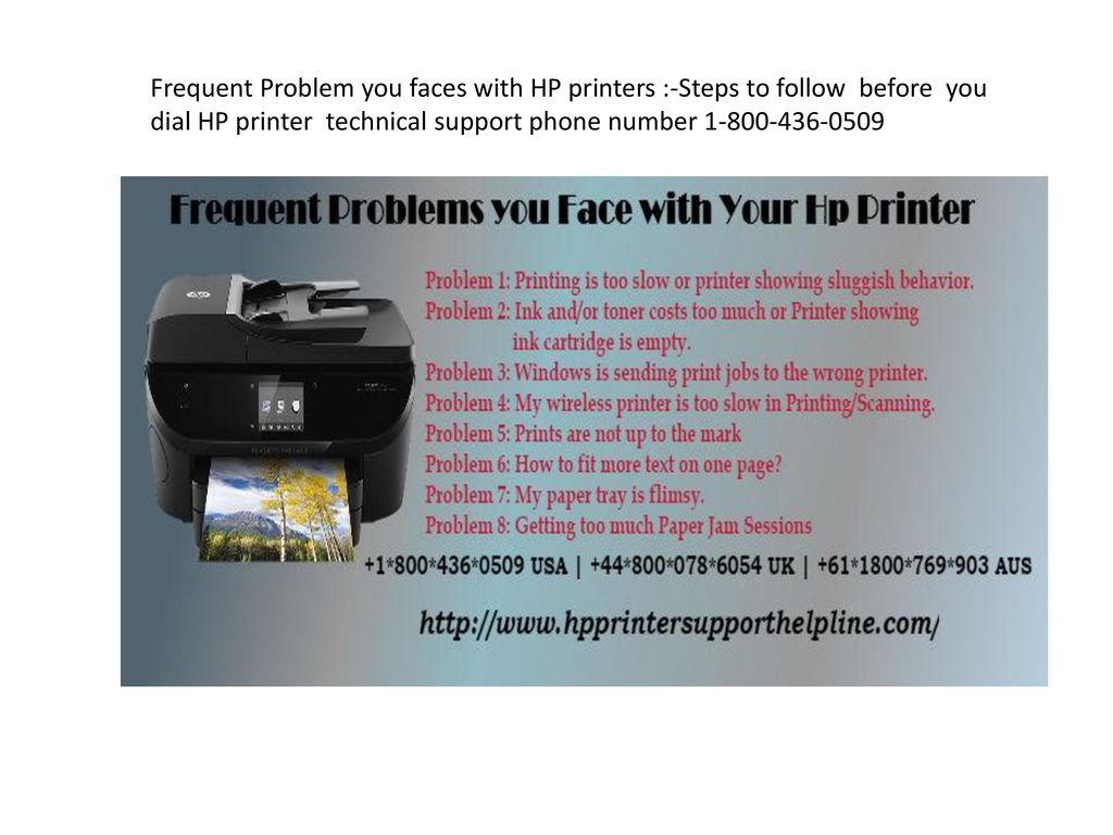 Frequent Problem you faces with HP printers :-Steps to follow before