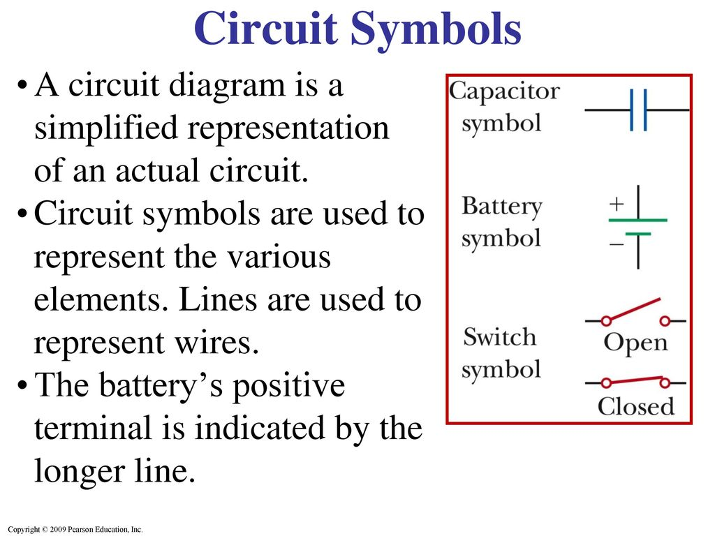 Capacitors In Series Parallel Ppt Download Wiring Diagram Battery Symbol Circuit Symbols A Is Simplified Representation