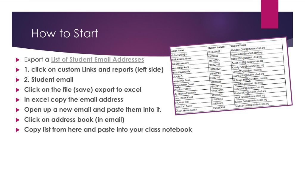 Creating a Class Notebook in OneNote - ppt download