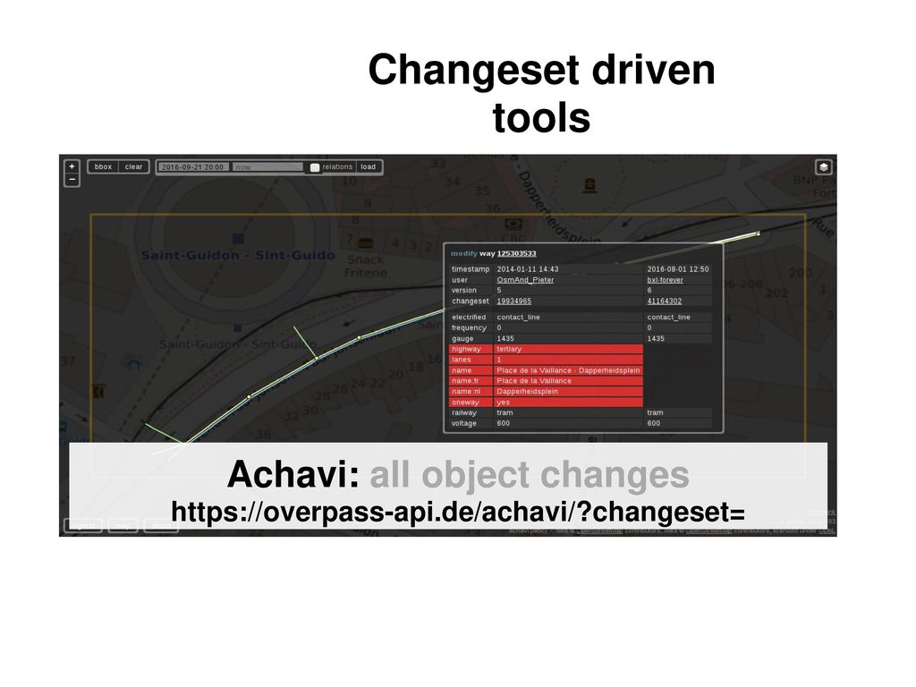 Gardening OSM data with Overpass API - ppt download