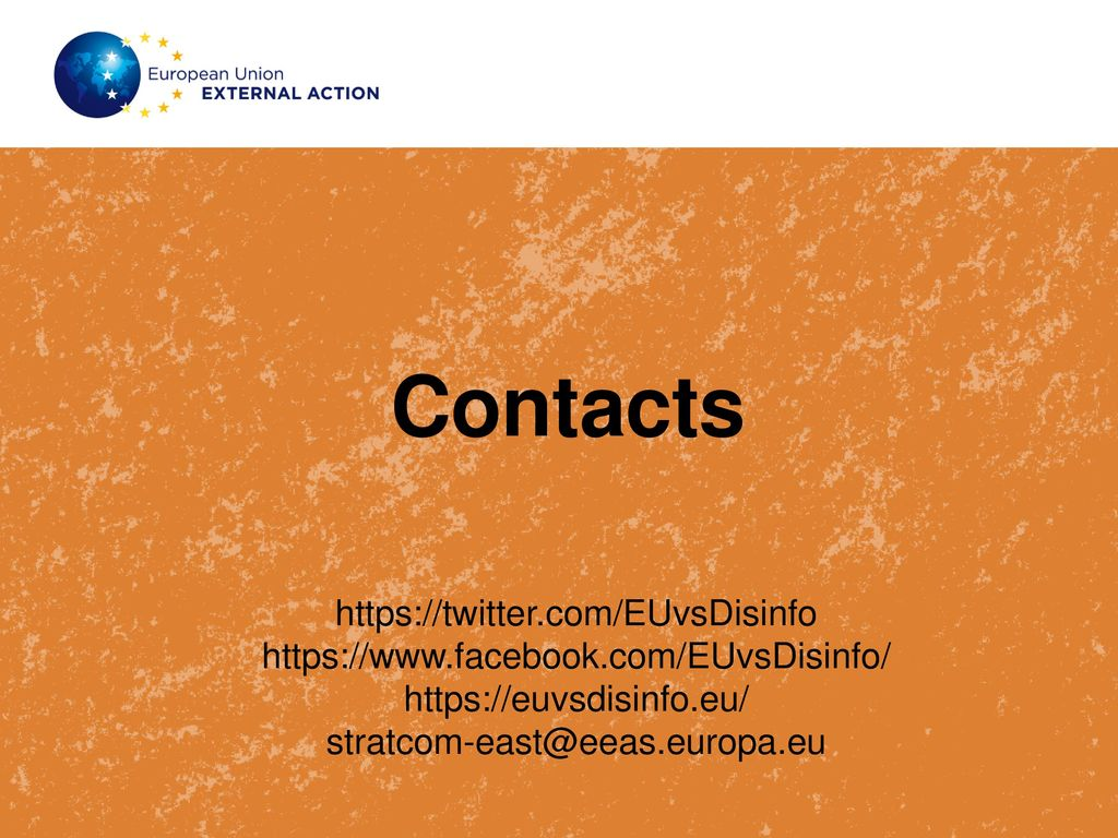 EU EAST STRATCOM TASK FORCE - ppt download