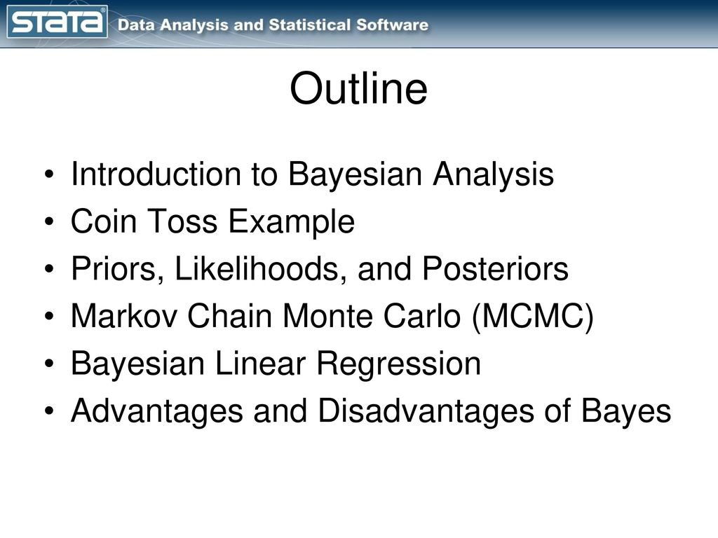 Introduction to the bayes Prefix in Stata ppt download