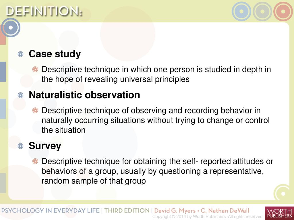 naturalistic observation topics