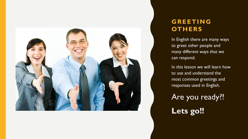Greet like a native english speaker ppt download greeting others m4hsunfo