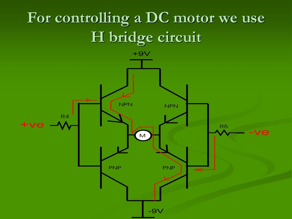 Metronics Metro Train Prototype Using 8051 Microcontroller Ppt H Bridge Circuit Diagram Dc Motor 6 For Controlling