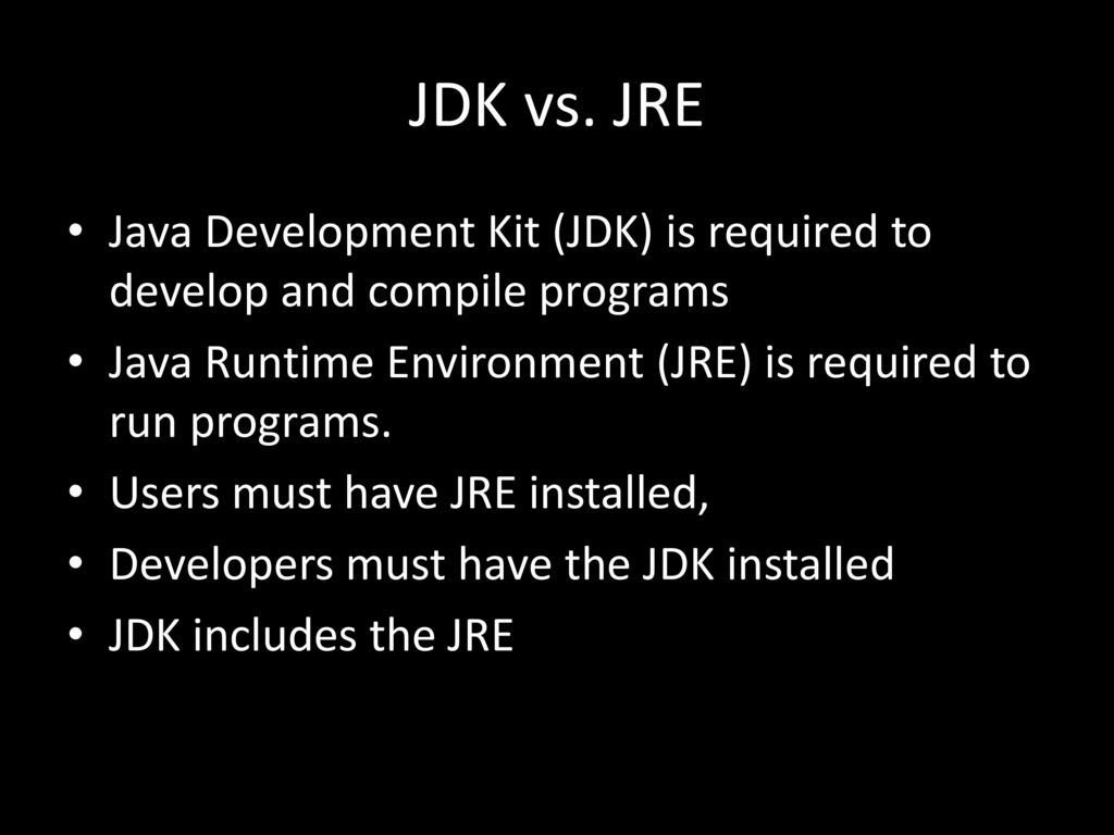 Java 101: Intro to Java Programming - ppt download