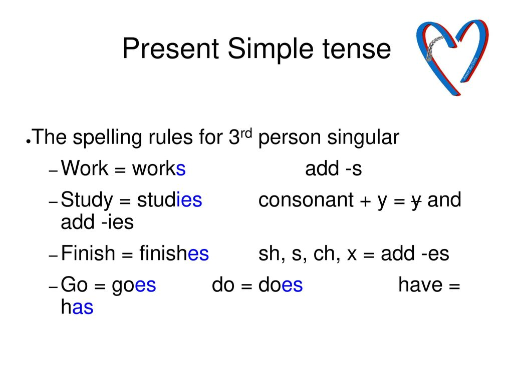 Present Simple Tense Present Simple Ppt Download