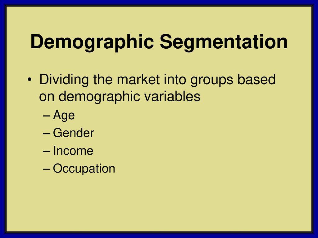 southwest airlines demographic segment