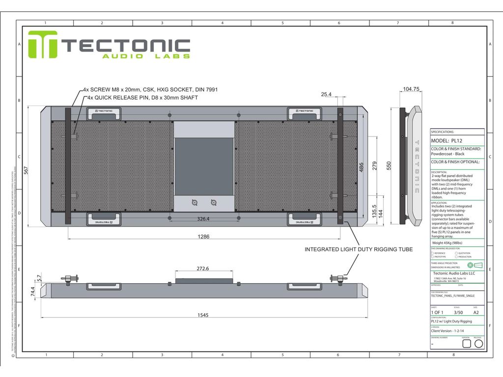 Tectonic Audio Labs Bringing Resonant Mode Technology - ppt