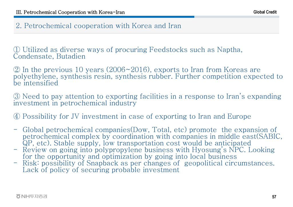 I  Global Petrochemical Industry II  Iran Petrochemical Industry