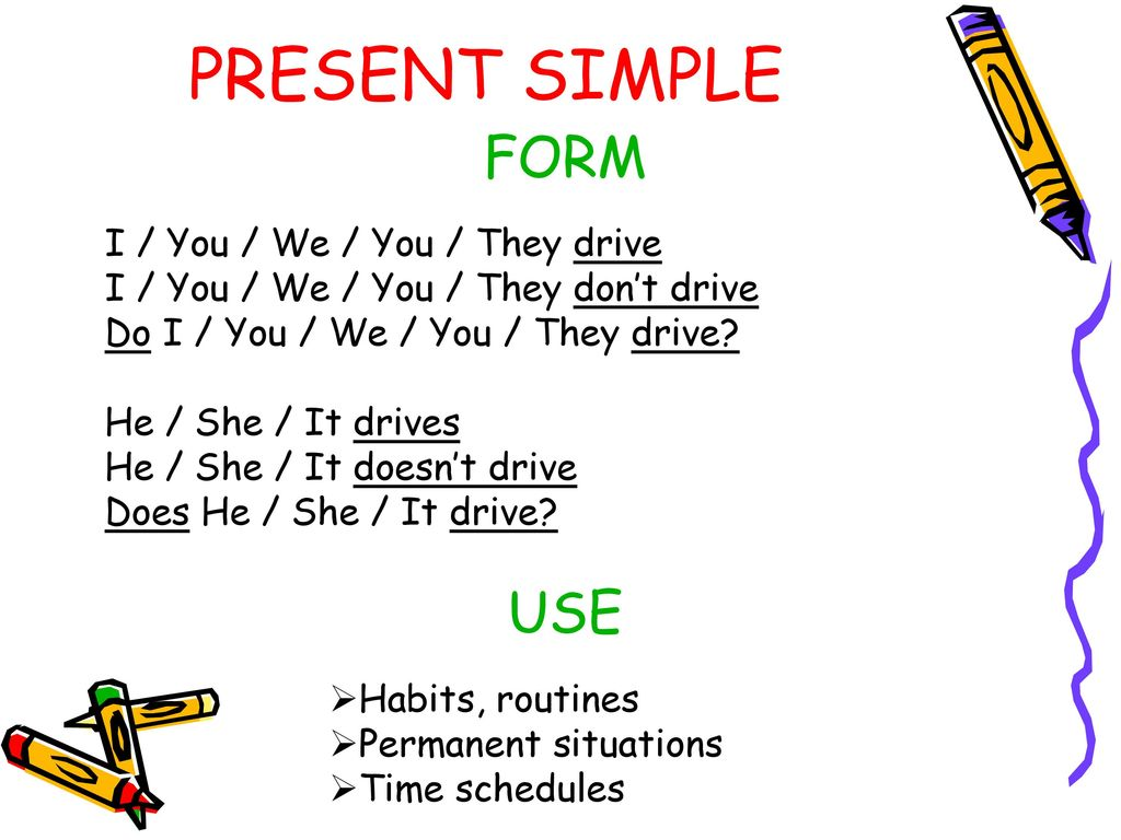 ENGLISH VERB TENSES  - ppt download