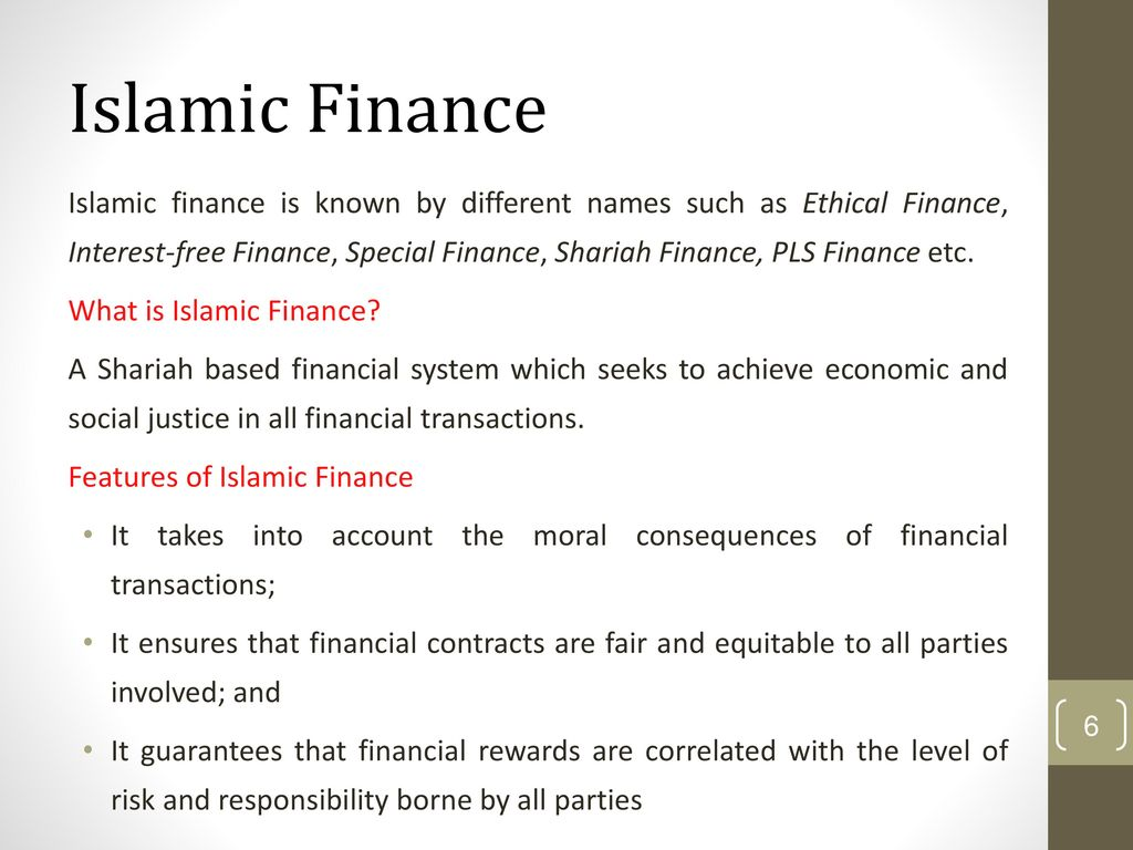 An Overview Fundamentals Of Islamic Finance Sharia Laws Ppt Download