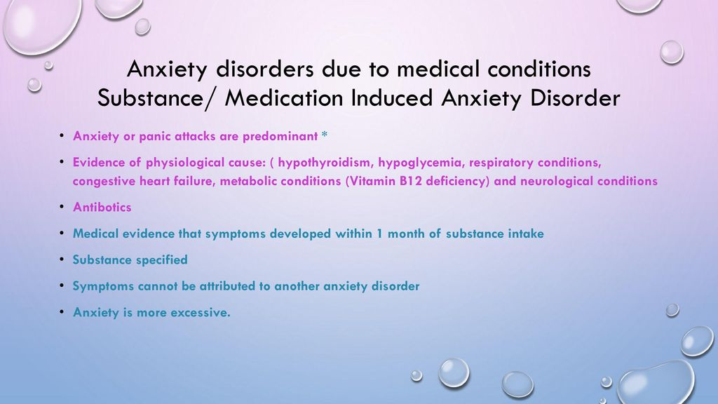Anxiety Disorders in Children & Adolescents - ppt download