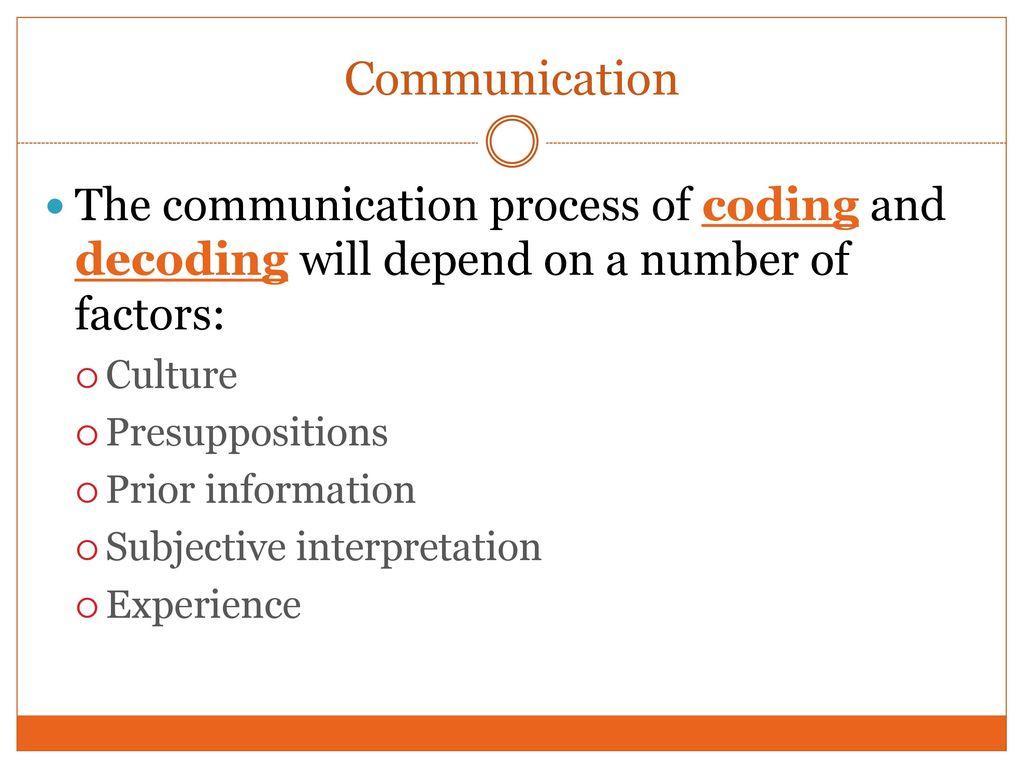 Human) Communication - ppt download