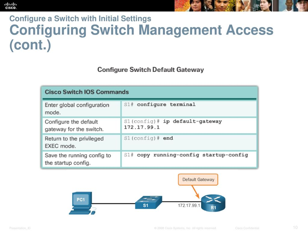 Chapter 5: Switch Configuration - ppt download