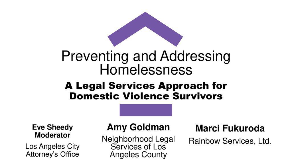 Eve Sheedy Moderator Los Angeles City Attorney's Office